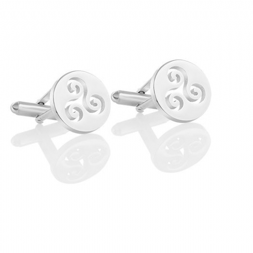 Newbridge Silverware Kells Triskele Cufflinks